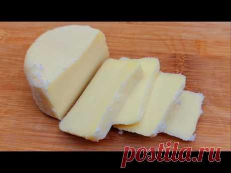 быстрый рецепт домашнего сыра, всего за 10 минут работы и готово # 210