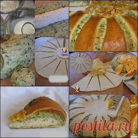 Формование теста для пирогов, пирожков и т.д. Мастер-классы
