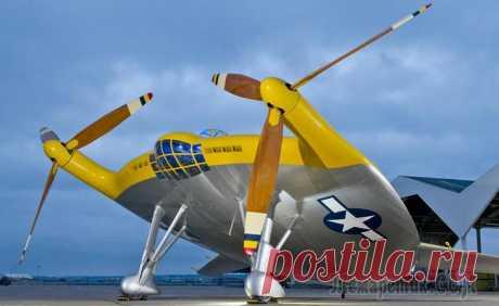 Фантастические самолеты существующие в реальности Авиационные конструкторы всегда проектируют самолет на основе концепции функциональности. Тем не менее иногда на свет появляются весьма удивительные
