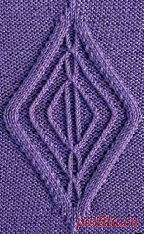 Diamond Cable Knitting - Chart Only ⋆ Knitting Bee