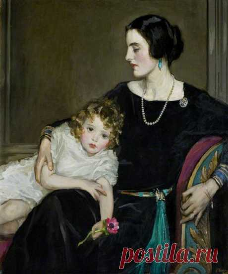 Sir John Lavery (Scottish, 1856-1941)...ЖенскоОбразное с аукционов и музеев