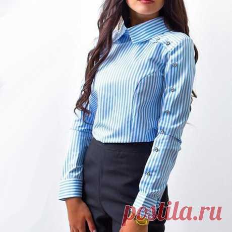 женская блуза рубашка с пуговицами на рукавах: 1 тыс изображений найдено в Яндекс.Картинках