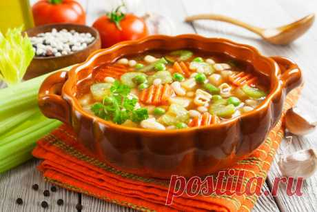 Recipes of dietary soups