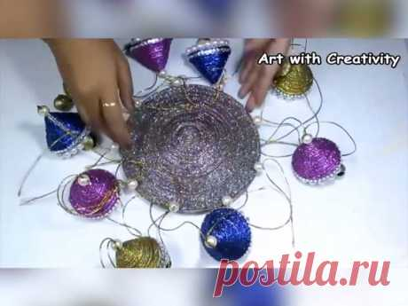 NTD Life - Glittering wall hanging that you can make, channel your...