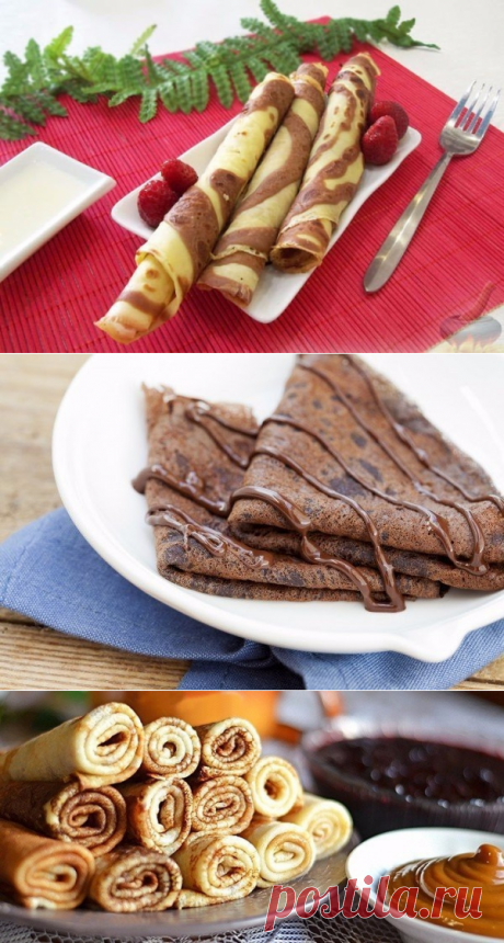 Как приготовить 3 лучших рецепта блинчиков на утро. - рецепт, ингредиенты и фотографии