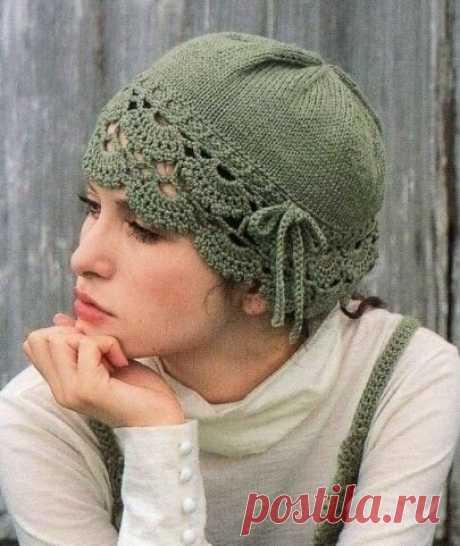 Романтичная шапочка