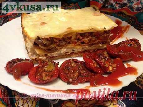 Лазанья из лаваша. | 4vkusa.ru