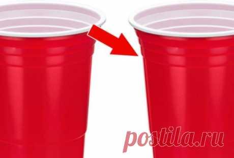 Линии на пластиковых стаканчиках... Для чего они предназначены? Беря в руки пластиковый стаканчик, вы, вероятно, заметили на нем полоски, которые выдавлены на стенках. Многие думают, что они выполняют лишь декоративную функцию или делают стаканчик более устойчивым…