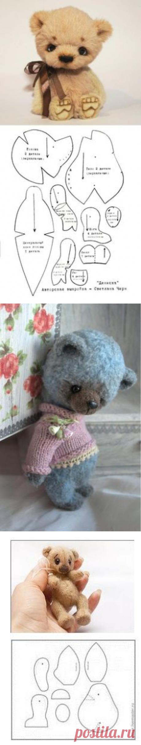(58) выкройка мишек тедди Пиппин и Хьюго / Pattern Teddy bears Pippin and Hugo | Teddy&company