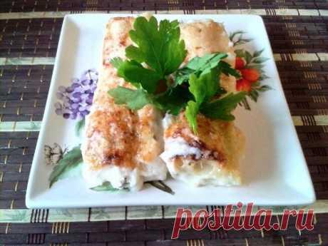 Каннеллони под соусом бешамель с рикоттой и шпинатом рецепт с фото пошагово - 1000.menu