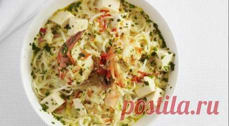 Суп в малайзийском стиле, пошаговый рецепт с фото