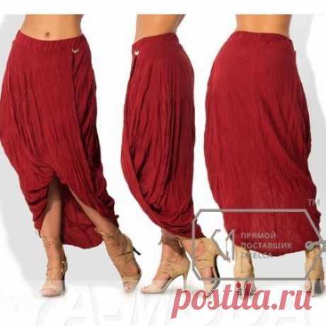 Стильная юбка размер плюс