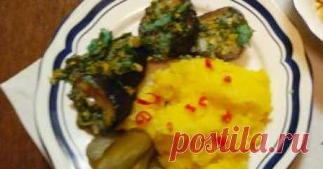 Классный рецепт - Острые баклажаны с картофельным пюре!