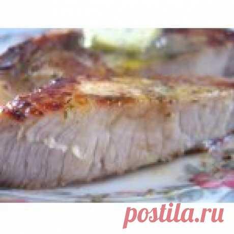 Свиные котлеты на кости Кулинарный рецепт
