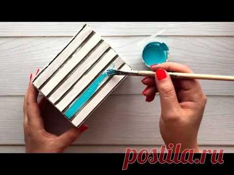 Простая идея картонной коробки