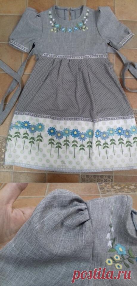 Как сделать платье из старой юбки? Простая идея | РукоТВОРЕНИЕ | Яндекс Дзен