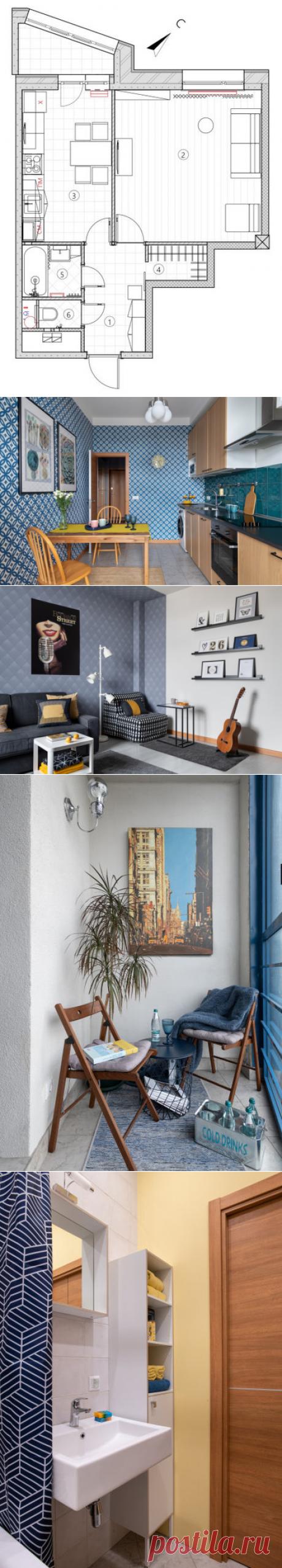 Houzz тур: Квартира для сдачи в аренду — с настроением джаза
