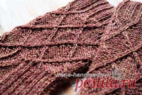 Ажурные носки «Корица» (вязание, схемы и фото) - Irena Handmade