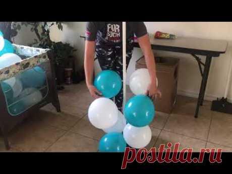 Balloonrama ! Como hacer torre de globos