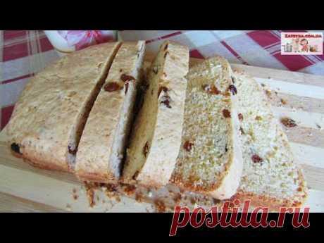 Творожный кекс с изюмом - Затейка.com.ua - рецепты вкусных десертов, уроки вязания схемы, народное прикладное творчество