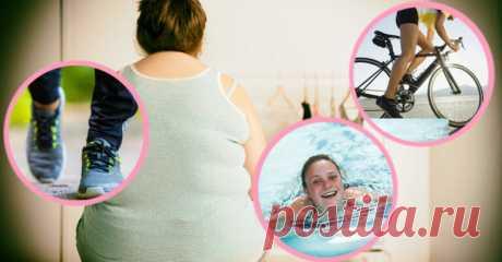 Лучшие упражнения для людей с избыточным весом - Счастливые заметки
