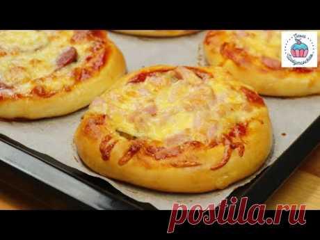 Пицца ШКОЛЬНАЯ по - домашнему!