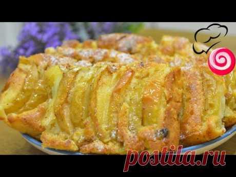 Все как вы любите – много яблок, мало теста, сочно, вкусно, ароматно!