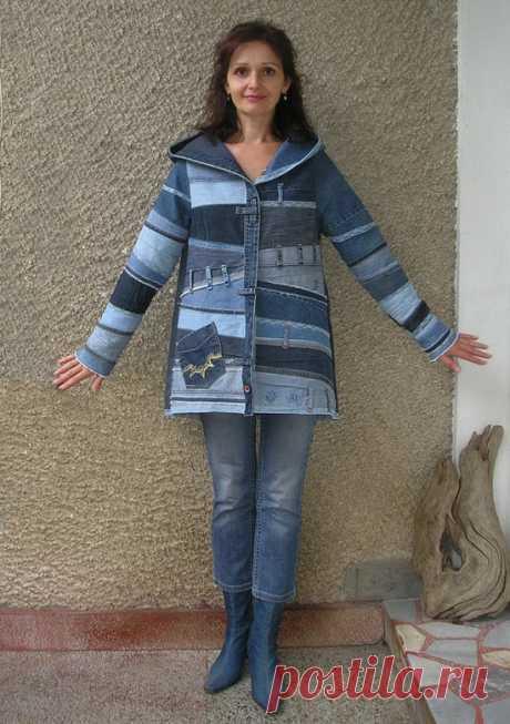 Джинсовая куртка в стиле пэчворк - Irzeis — ЖЖ