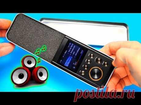DIY Мини Портативные Колонки. Как сделать MP3 колонку