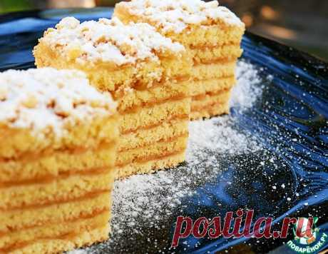 """Яблочный торт """"Небо на губах"""" – кулинарный рецепт"""