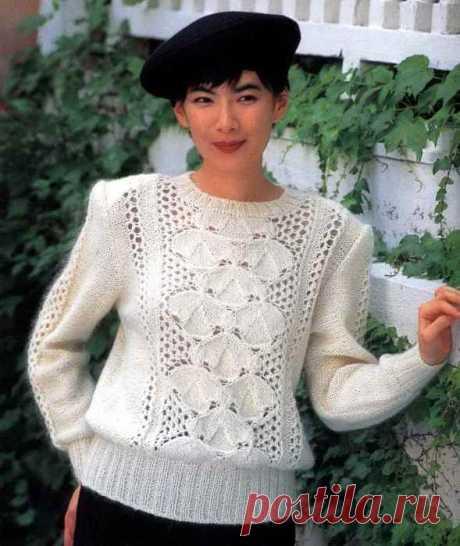 Пуловер для доченьки