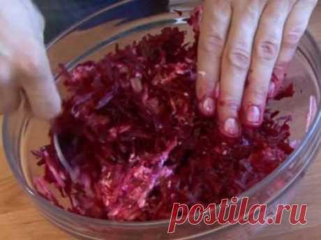 Готовим вкусно - Свекольный салат по-итальянски