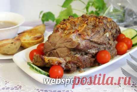 Свиная шейка в луковом маринаде в духовке рецепт с фото, как приготовить на Webspoon.ru