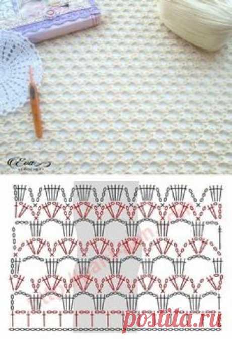 Crochet Lacy Stitch