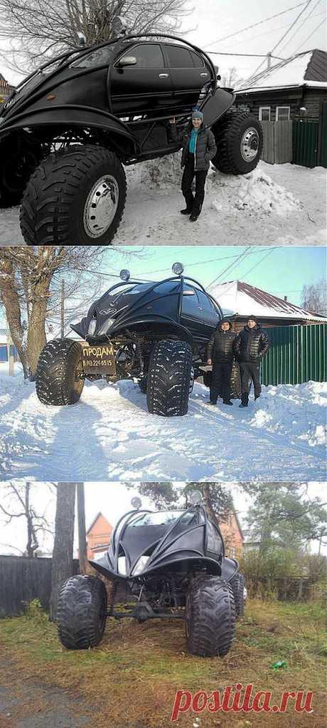 Самодельное авто для суровой зимы | МАСТЕРА
