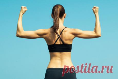 Упражнение «Оса» или как эффективно избавиться от дряблых рук | Фитнес по-русски | Яндекс Дзен