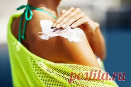 6 табу в применении солнцезащитного средства