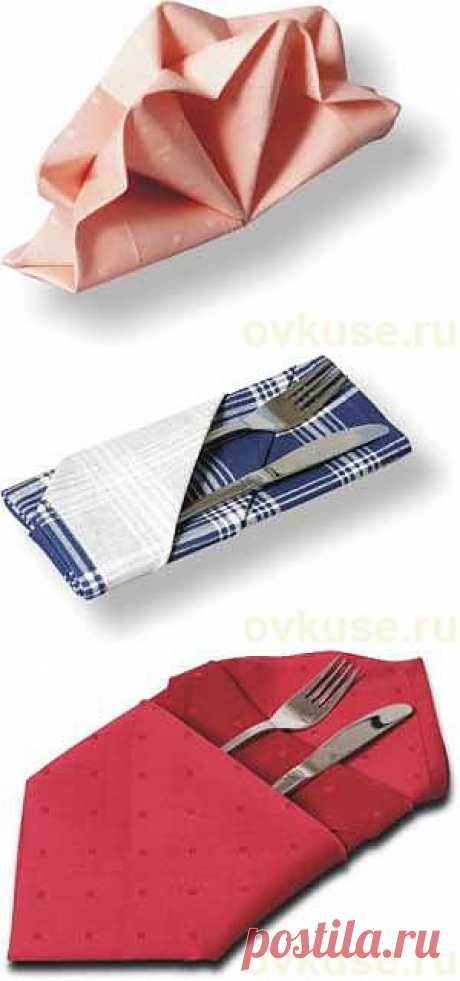 We PUT BEAUTIFULLY NAPKINS... - Simple recipes of Овкусе.ру