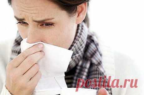 Народные средства от простуды и НАСМОРКА!