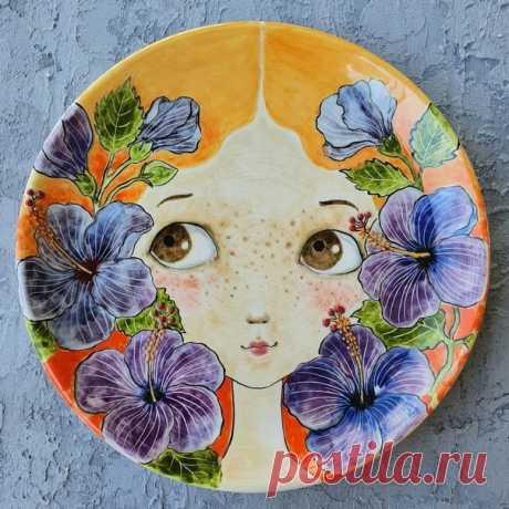 Любуемся керамикой ручной работы от мастера illustranaggi