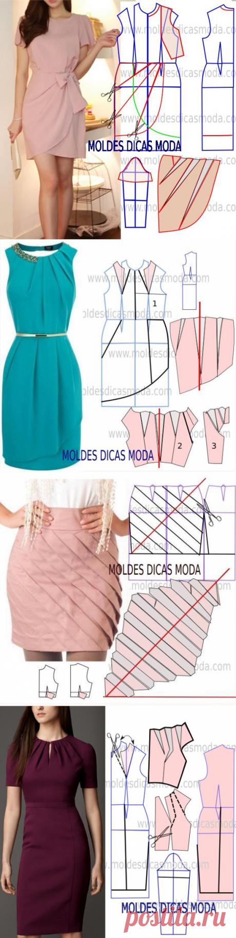 Выкройки красивых нарядов к праздникам — DIYIdeas