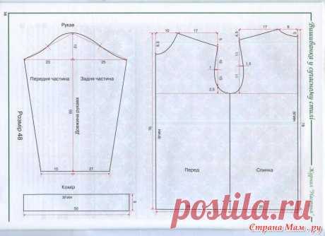 Выкройка - Вышиванки - славянские рубахи для женщин, мужчин и детей. - Страна Мам