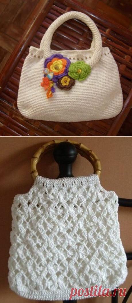 Экслюзивные женские сумочки крючком