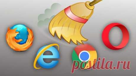 Как почистить кэш и куки браузера Yandex (Яндекс), Опера, Гугл Хром и Мозила