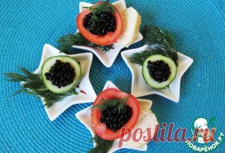 Фальшивая черная икра – кулинарный рецепт