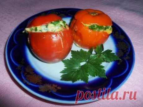 Яичница в помидоре | 4vkusa.ru