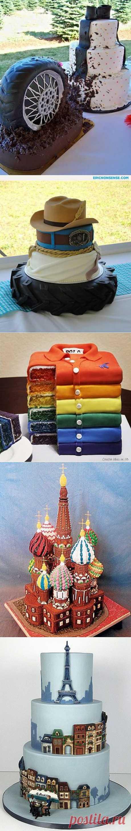 10 самых креативных тортиков по мнению Моря Идей | Море идей