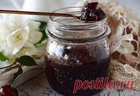 Варенье из вишни с горьким шоколадом - все будут просить добавки! | Домашние рецепты | Яндекс Дзен