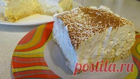 Холодный ананасовый торт без выпечки восторг – пошаговый рецепт с фотографиями