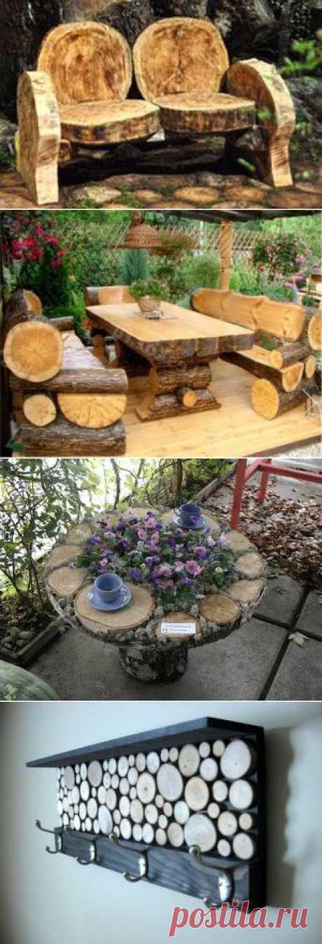 Поделки (и не только) из деревянных спилов | Для дачников.ру